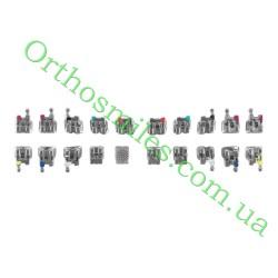 Металлические брекеты самолигирующие пассивная система