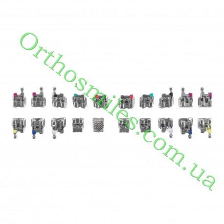 Металлические брекеты самолигирующие пассивная система фото 1 — OrthoSmiles