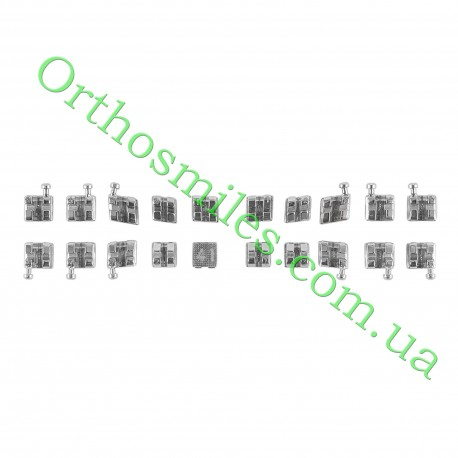 Металлическая брекет-система Equilibrium mini фото 1 — OrthoSmiles
