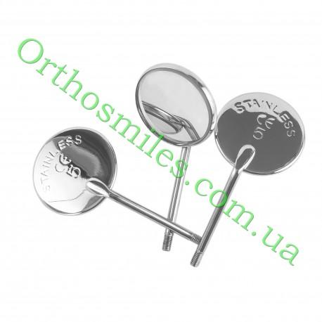 Зеркало стоматологическое с родиевым покрытием Front surfasce фото 1 — OrthoSmiles