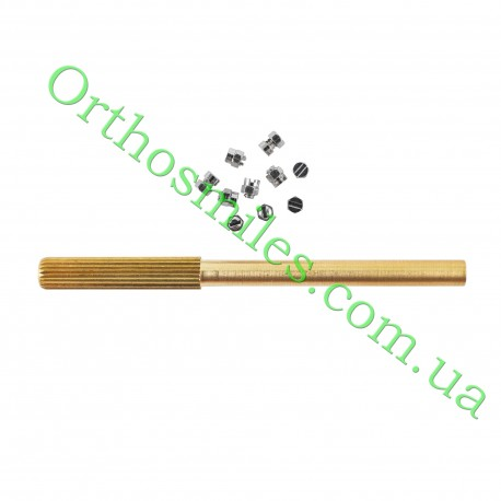 Стоп зажимний без гачка + інструмент фото 1 — OrthoSmiles