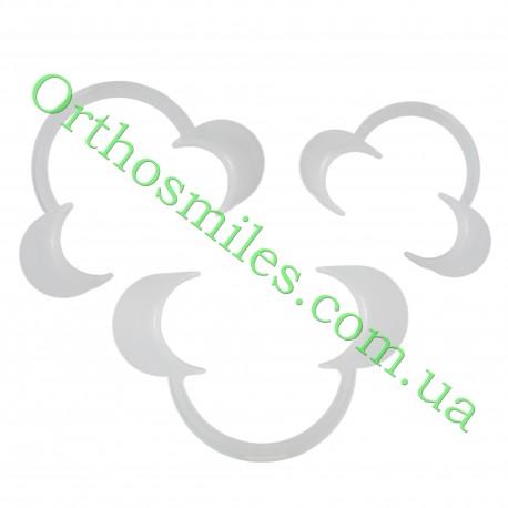 Ретрактор пластиковий білий фото 1 — OrthoSmiles