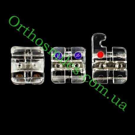 Поштучно сапфірові брекети Hubit фото 1 — OrthoSmiles