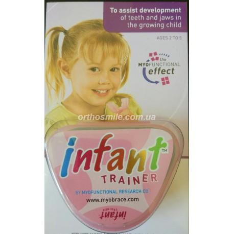 Трейнер Инфант (Trainer Infant) для детей от 2 до 5 лет розовый фото 1 — OrthoSmiles