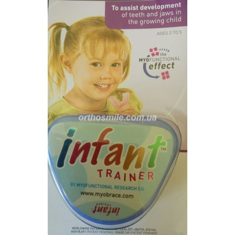 Трейнер Инфант (Trainer Infant) для детей от 2 до 5 лет голубой фото 1 — OrthoSmiles