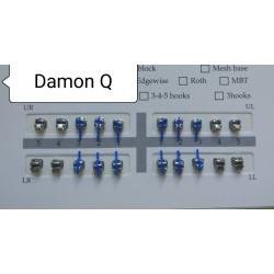 Металлические самолигирующие брекеты Damon Q