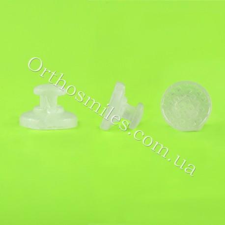 Лингвальная кнопка керамическая фото 1 — OrthoSmiles