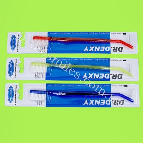 Зубная щетка ортодонтическая с ершиком фото 1 — OrthoSmiles