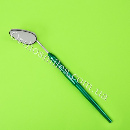 Зеркало (форма яйца) стоматологическое с родиевым покрытием фото 1 — OrthoSmiles