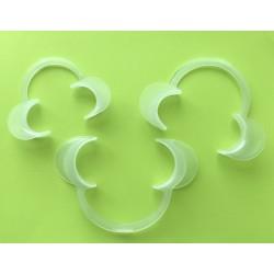 Ретрактор пластиковый белый