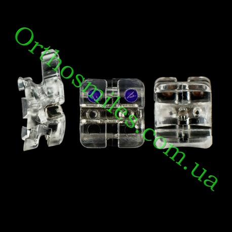 Композитная брекет-система с металлическим пазом фото 1 — OrthoSmiles