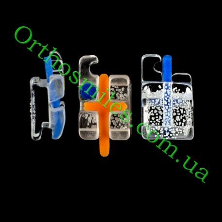 Сапфировые брекеты HUBIT фото 1 — OrthoSmiles