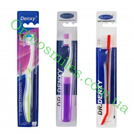 Зубна щітка ортодонтична з йоршиком фото 1 — OrthoSmiles